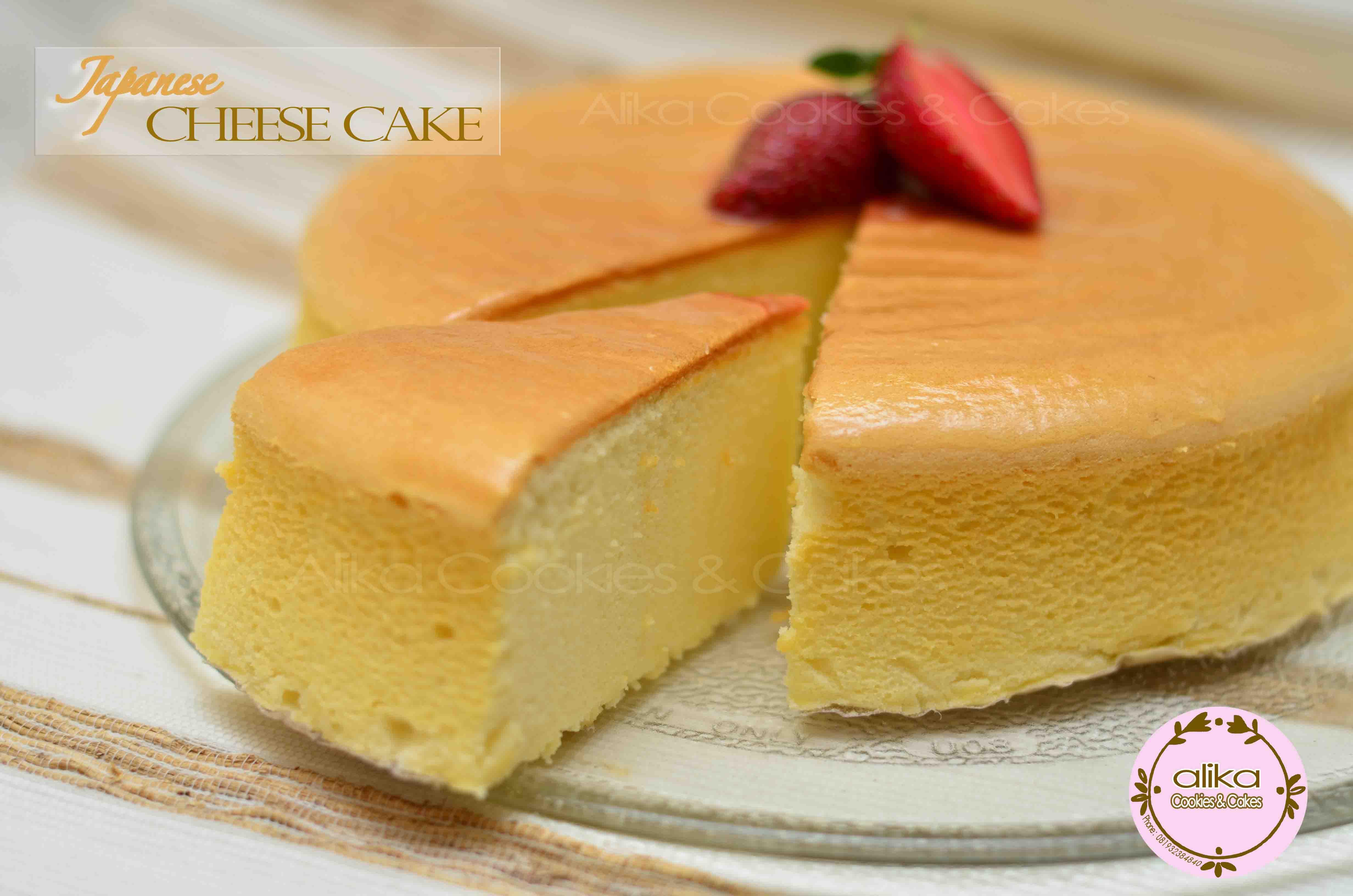 Cheese Cotton Cake Resep